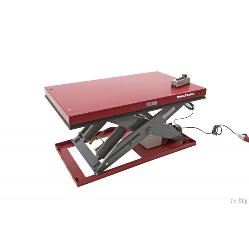 Table élévatrice électrique - Capacité 500 kg - Plateforme 1300 x 800 mm
