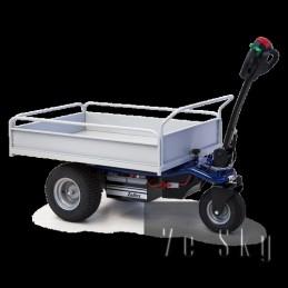 Chariot transporteur électrique à 3 roues HT